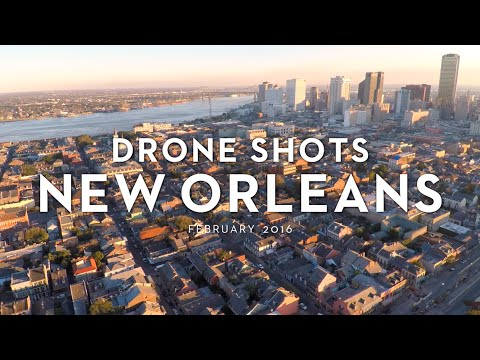 Drone Shots New Orleans Feb 2016