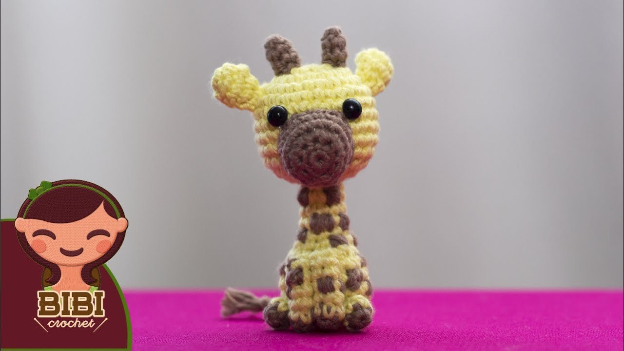 DIY Jirafa Parte 6 amigurumi crochet/ganchillo (tutorial) - YouTube | 720x1280
