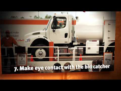 How To Bid In Person At A Ritchie Bros Auction | Equipment Auction