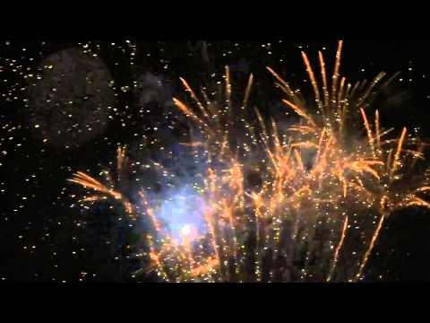 Feu d'Artifice Cosne sur loire 14 Juillet 2012