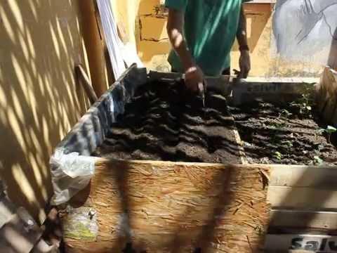 Huerta urbana preparaci n de la tierra para sembrar - Preparacion de la tierra para sembrar ...