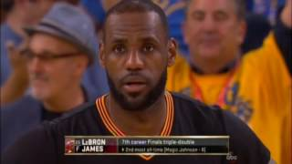 2016 NBA Finals Game 7 Final 6:10 Cleveland Cavaliers at Golden State Warriors