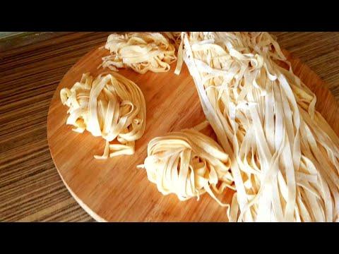 İtalyan-makarna-yapımı-#kitchenaid-mixer-pasta-making