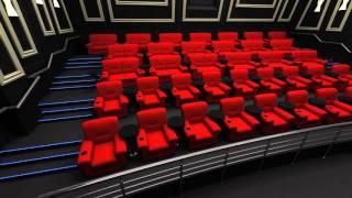 VIP зал / SBS Megamall(Видео заставка для VIP залов киноплекса