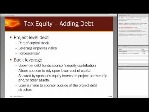 Energy Bootcamp Series Session 4: Financing Renewable Energy Projects