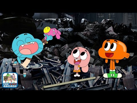 The Amazing World Of Gumball: Dino Donkey Dash - Everybody Loves Daisy (Cartoon Network Games)