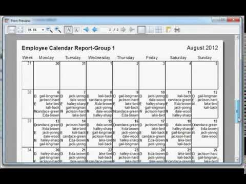 Automatic scheduling software - Employee schedular maker - YouTube