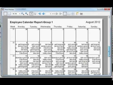 easy employee schedule maker