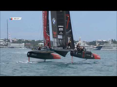 America's Cup Match Day 3: USA vs NZ, June 24 2017