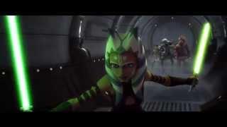 Download Video Star Wars: The Clone Wars - Ahsoka Tano vs. Hodno Ohnaka [1080p] MP3 3GP MP4
