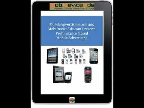 Performance Based Mobile Advertising