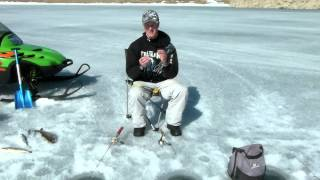 Ice Fishing with Robby,Lure choices for Lake Trout