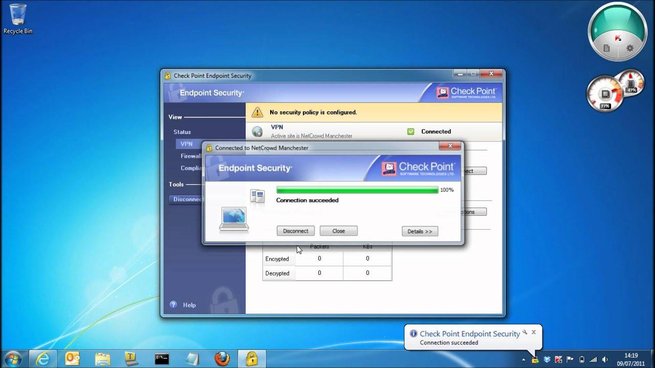 Checkpoint VPN External