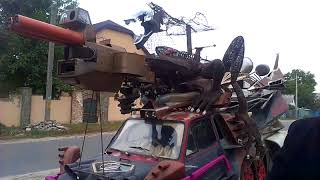 Переделка по типу авто с фильма Безумный Макс дорога ярости