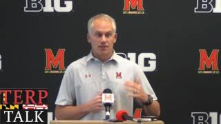 Maryland Football - DJ Durkin 2017 08 01 preseason interview