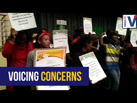 WATCH: Protestors disrupt Mining Charter meeting in Mpumalanga