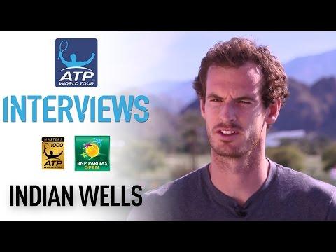Fresh Off Dubai Title Murray Feeling Good In Indian Wells
