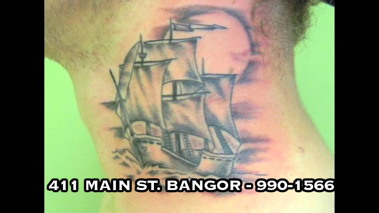 Ace n eights tattoo gallery in bangor maine youtube for Tattoo removal maine