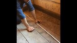 TAITAVA - Lattiaritilä saunaan (suunnittelu)