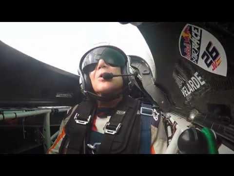 Juan Velarde Abu Dhabi 2017 Red Bull Air Race
