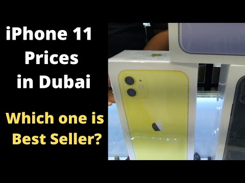 IPhone 11 Prices In Dubai: Best Selling IPhone Colors/Specs