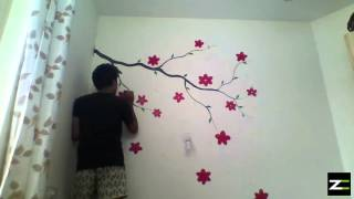 Wall Painting - (Time Lapse)