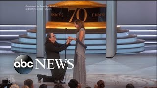 The award-winning proposal at the Emmys