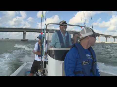 Saltwater Fishing At Grand Isle, LA