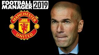 What If Zinedine Zidane Replaced José Mourinho As Manchester United Manager | Football Manager 2019