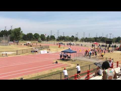 Women 800m Athletics Ontario Junior Championship 2016 heat 2