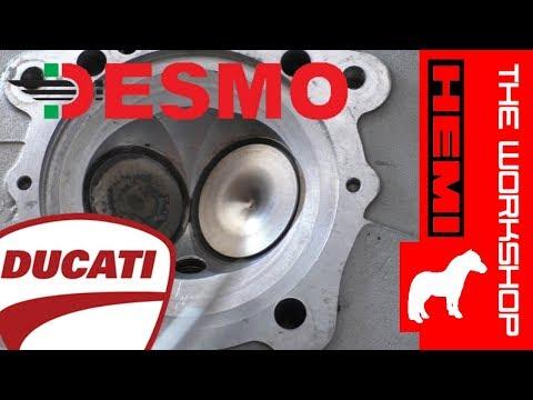 Ducati Desmo Hemi - teardown