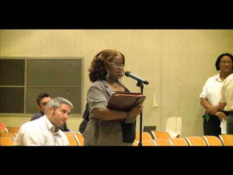 East End Community Meeting on public housing transformation