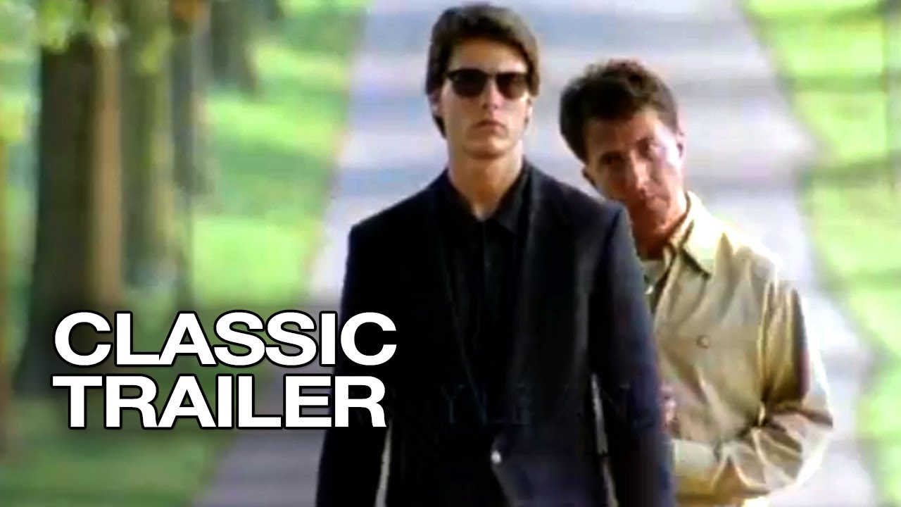 Rain Man Official Trailer 1 Tom Cruise Dustin Hoffman Movie 1988 Hd Youtube
