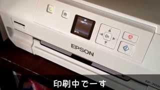 エプソン カラリオEP707AでDVDラベル印刷をしてみました!