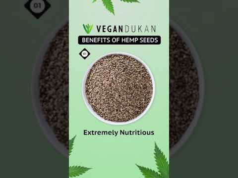 Hemp Seeds – The Undiscovered Wonders #hempseeds #vegandukan #vegan #healthyfoods #healthychoices
