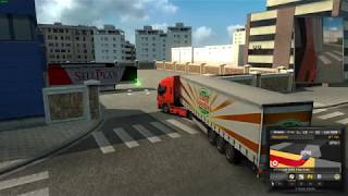 Euro Truck Simulator 2 (1.30)   Greece2: Extending 1:1 real-life map to Korinthos + DLC's & Mods https://ets2.lt/en/greece2-extending-11-real-life-map-to-korinthos/  Support me please thanks  company logo & Trailers logo v2.6 http://uploadfiles.eu/8z2qxlh