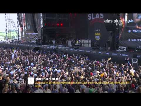 Slash ft. Myles Kennedy & The Conspirators – 08.Anastasia Live @ Rock Am Ring 2015 HD AC3