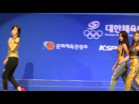 Number Nine (넘버나인) - T-Ara (티아라) Live @ Inaugural Ceremony of Korean Team (대표선수단 결단식)