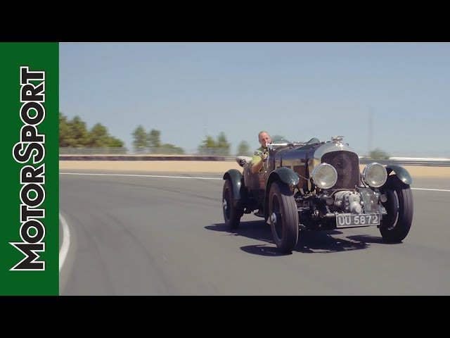 Being Birkin: Driving the Bentley Blower at Le Mans