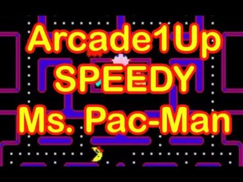 Arcade1Up Adds Speedy Ms. Pac-Man Update Arcade 1Up Pac Man Speed from rarecoolitems