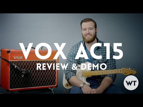 Vox AC15 Review & Demo (AC15c1)