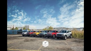 2021 FORD BRONCO FINAL ORDER GUIDE REVEALED