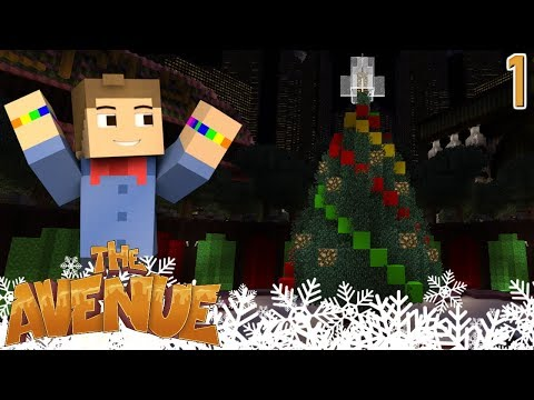 BRAND NEW SERIES - The Avenue #1 - Modded Minecraft SMP
