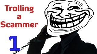 TROLLING A SCAMMER (Prank Call)