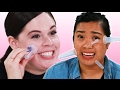 People Try Facial Cupping