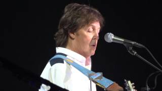Paul McCartney -And I Love Her-Barclay Center 6/8/2013