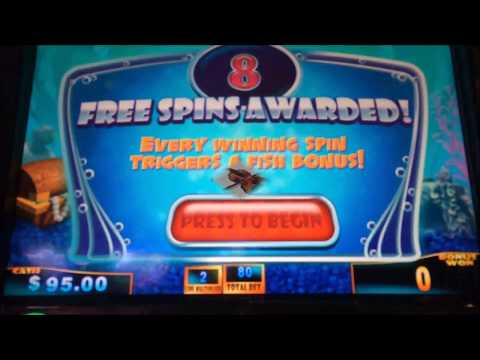 MORE SLOT HITS FROM ATLANTIS CASINO IN THE BAHAMAS!