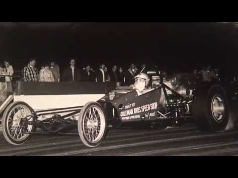 Coleman Bros Early 60's Rear Engine Dragster