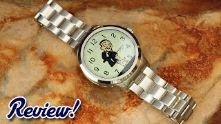 Fossil Q Founder Review! Most Stylish Android Wear Watch Yet?