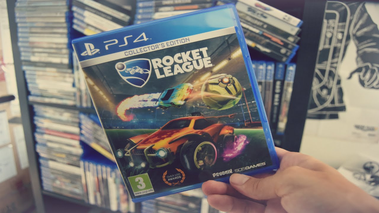 Unboxing Rocket League Collector's Edition (PS4) Retail Version